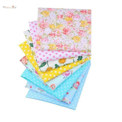 Fat Fifth Bundle - Summer Flowers Collection - Set of 8 - The Fabric Hut