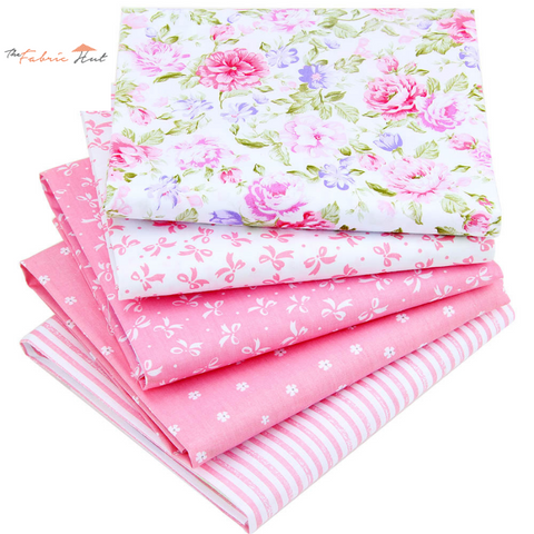 50 Pink Fat Fifths Mega Bundle - The Fabric Hut