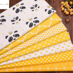 Fat Fifth Bundle - Yellow Dream Collection - Set of 7 - The Fabric Hut