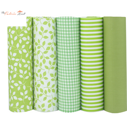 Fat Fifth Bundle - Green Collection - Set of 5 - The Fabric Hut