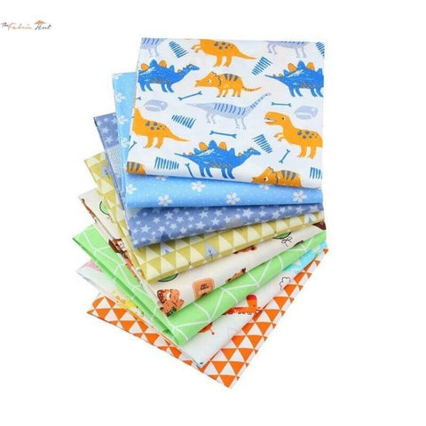 Fat Fifth Bundle - Jurassic Jungle Collection - Set of 8 - The Fabric Hut