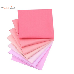 Fat Fifth Bundle - Solid Pink Collection - Set of 7 - The Fabric Hut