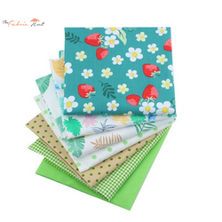 Fat Fifth Bundle - Strawberry Green Collection - Set of 7 - The Fabric Hut