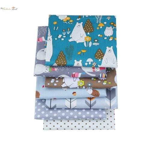 Fat Fifth Bundle - The Blue Forest - Set Of 35 - The Fabric Hut