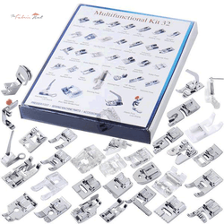 32pcs Sewing Machine Presser Foot Set