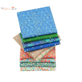 Fat Fifth Bundle -  Cosmos Flowers, Butterflies and Stars Collection - Set of 50 - The Fabric Hut