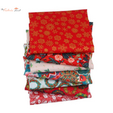 Fat Fifth Bundle - Floral Christmas Collection - Set of 7 - The Fabric Hut