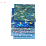 Fat Fifth Bundle - Blue Floral Collection - Set of 7 - The Fabric Hut