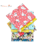 Fat Fifth Bundle - Happy Woods Collection - Set Of 8 - The Fabric Hut