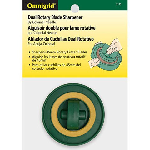 Omnigrid 45mm Rotary Cutter Blades Dual Sharpener - The Fabric Hut