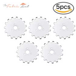 45MM Crochet Edge Rotary Blades For Olfa and Fiskars Cutters - Buy 2 Get 3 Free - The Fabric Hut