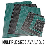 "24"" x 36"" GREEN/BLACK Professional Self Healing 5-Ply Double Sided Cutting MatProjects - The Fabric Hut"