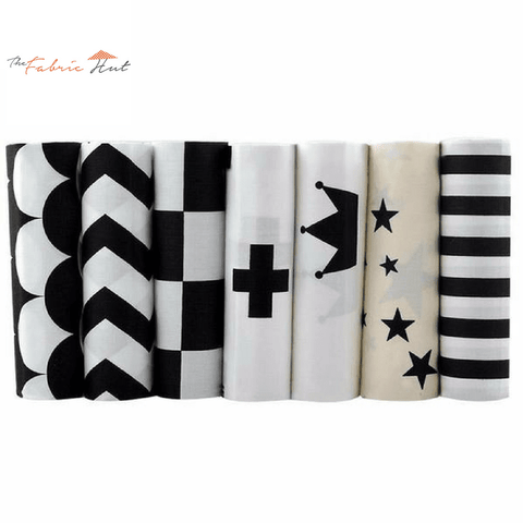 Fat Fifth Bundle - Black Collection - Set of 7 - The Fabric Hut