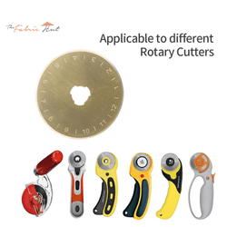 45mm Titanium Coated Rotary Cutter Blade For OLFA And Fiskars - The Fabric Hut
