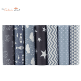 Fat Fifth Bundle - Gray Fun Prints Collection - Set of 35 - The Fabric Hut