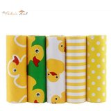 Fat Fifth Bundle - Cartoon Ducks on Yellow Collection - Set of 5 - The Fabric Hut