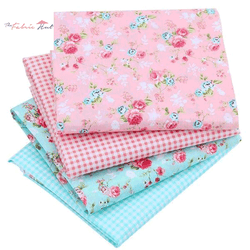 Fat Fifth Bundle - Pink/Teal Collection - Set of 40 - The Fabric Hut