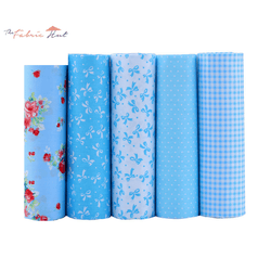Fat Fifth Bundle - Blue Collection - Set of 45 - The Fabric Hut