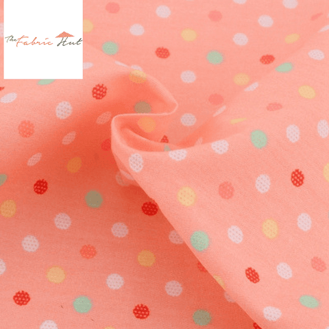 CANDY PINK  - 1/2 YARD - The Fabric Hut