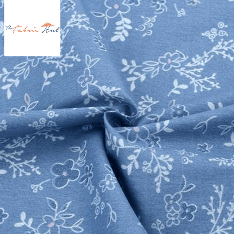 BLUE SPRING COLLECTION MEADOWS - 1/2 YARD - The Fabric Hut