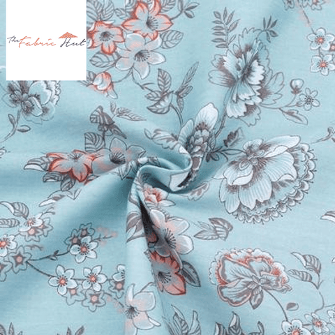 BLUE SPRING COLLECTION VALLEYS - 1/2 YARD - The Fabric Hut