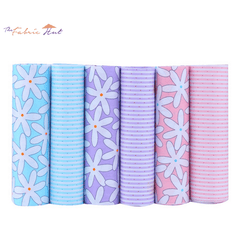 Fat Fifth Bundle - Stripe and Floral Collection - Set of 6