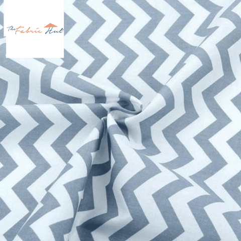 Ash Zigzag - 1/2 Yard - The Fabric Hut