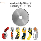45mm Precision Rotary Blades - Pack of 30 + Rotary Cutter - The Fabric Hut