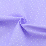 POLKA DOTS LIGHT PURPLE - 1/2 YARD - The Fabric Hut