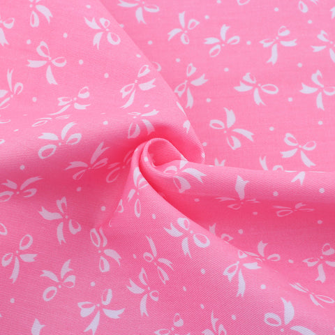 BOW PINK- 1/2 YARD - The Fabric Hut