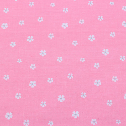 PINK FLORET - 1/2 YARD - The Fabric Hut