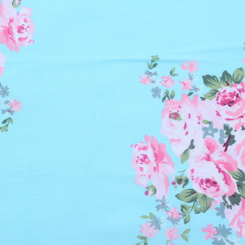 Garden Delight in Blue  - 1/2 Yard - The Fabric Hut