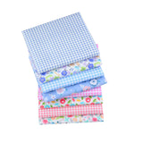 Fat Fifth Bundle - Flowers and Checkered Collection - Set of 40 - The Fabric Hut