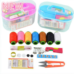 Portable Mini Travel Sewing Box With Assessories