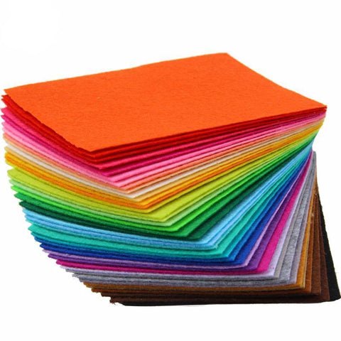 Felt Fabric - 40 Colors Mix - The Fabric Hut