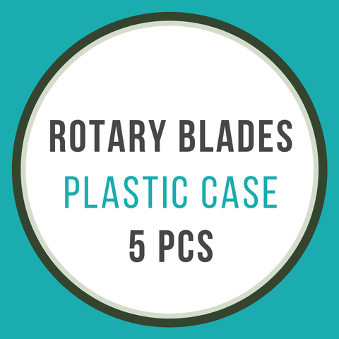 Empty Plastic Cases For 45mm Blades - 5 Pcs - The Fabric Hut