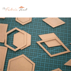 The Fabric Hut 54 Acrylic Quilting Templates