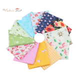 Fat Fifth Bundle - Printed Twill Cotton Collection - Set of 12 - The Fabric Hut