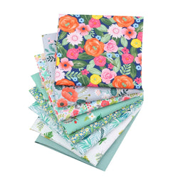 Fat Fifth Bundle - Floral Fields Collection - Set of 8 - The Fabric Hut