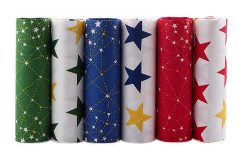 Fat Fifth Bundle - Star Collection - Set of 30 - The Fabric Hut