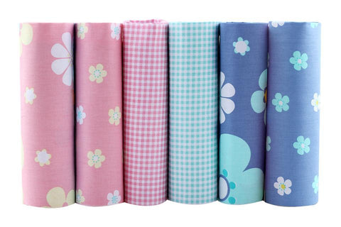 Fat Fifth Bundle - Printed Twill Collection - Set of 6 - The Fabric Hut
