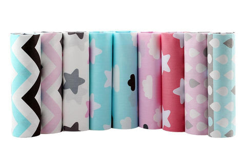 Fat Fifth Bundle - Stars Collection - Set of 9 - The Fabric Hut