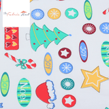 Christmas Fabric - Christmas Cheer - 1/2 Yard - The Fabric Hut