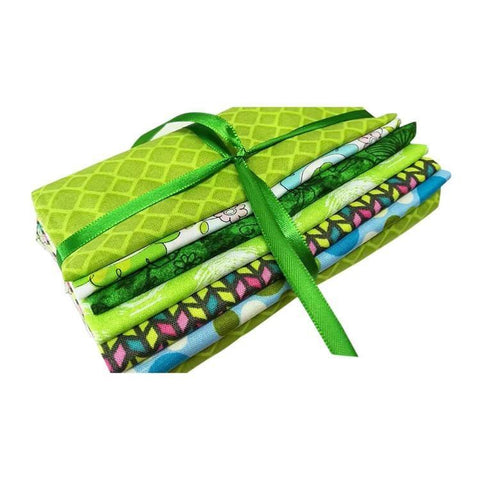 Fat Quarter Bundle - Green Collection - Set of 6