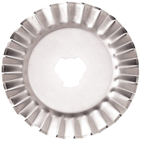 45mm Decorative Rotary Cutter Pinking Blades For OLFA And Fiskars - Buy 5 Get 5 Free - The Fabric Hut