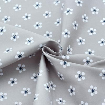GREY BABY'S BREATH COTTON - 1/2 YARD