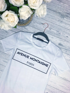 Women's White Slogan T-shirt | Online Clothing Boutique