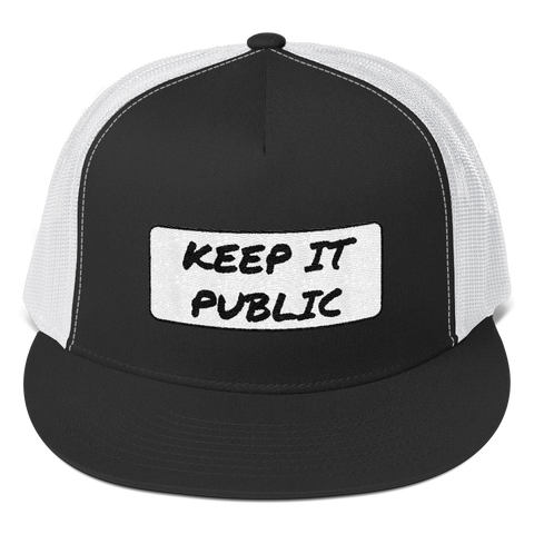 Keep It Public Trucker