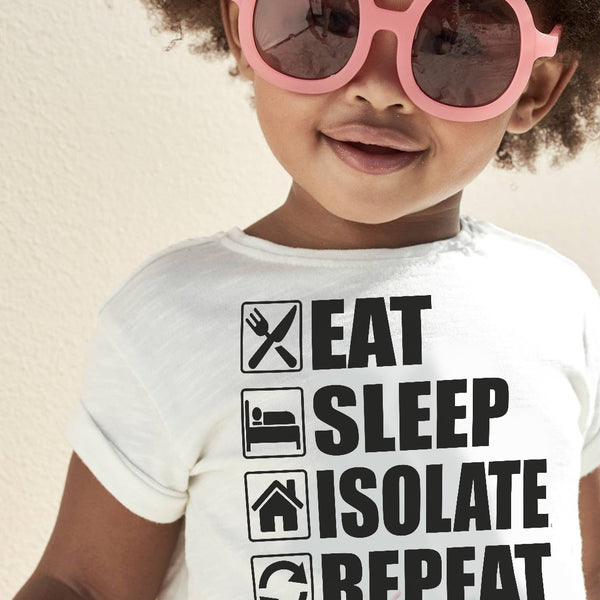 Eat Sleep Isolate Repeat T-shirt