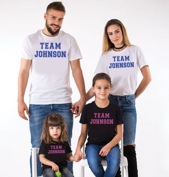 Family Team Personalised